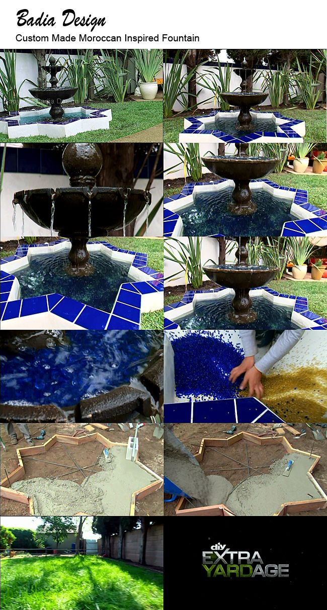 Mediterranean living room los angeles by badia design inc - Posts About Mosaic Fountain On Moroccan Tiles Los Angeles
