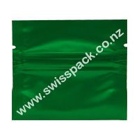 Green WithoutEuro Solt-3 Side Seal Flat Pouch. Visit http://www.swisspack.co.nz/3-side-seal-flat-pouch/