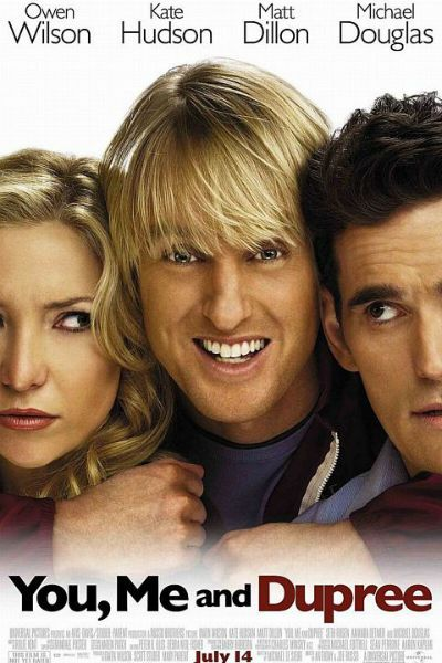 Directors: Anthony Russo, Joe Russo Writer: Michael LeSieur Stars: Kate Hudson, Owen Wilson, Matt Dillon Genres: Comedy, Romance   You, Me and Dupree (2006) Movie Watch Full Online: WatchVideo Watch Full You, Me and Dupree (2006) Movie Watch Full Online: RapidVideo Watch Full…Read more →
