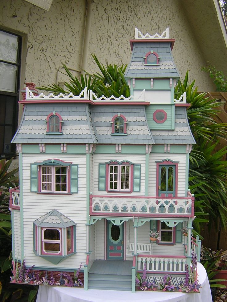 A selection of dollhouses by artist Robin Carey, compiled by Sumaiya Mehreen
