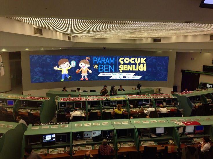 """Borsa İstanbul dev ekranında bugün """"Param ve Ben Çocuk Şenliği"""" var!"""