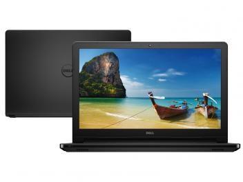 """Até 70% OFF + até 15% à vista + Frete Grátis*, VEM! Notebook Dell Inspiron i15-5566-D30P Intel Core i5 - 4GB 1TB LED 15,6"""" Linux"""