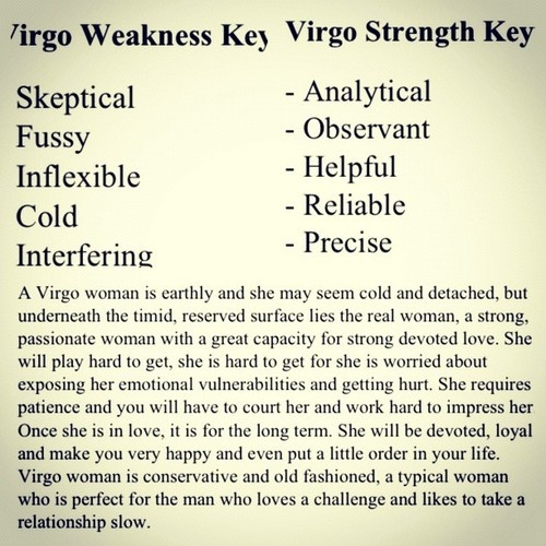 what is a virgo woman like