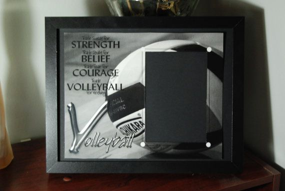 8x10 Volleyball Inspired Framed Photo by SapphireCustomPhotos, $22.00