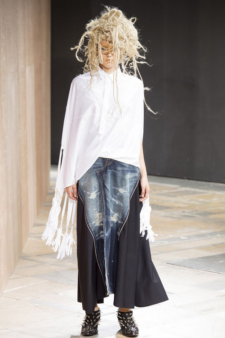 Junya Watanabe Spring 2014 RTW - Runway Photos - Fashion Week - Runway, Fashion Shows and Collections - Vogue