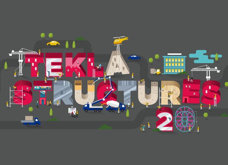 Concept of global Tekla Structures 20 launch campaign: http://www.redland.fi/tekla-structures-20-lanseerauskampanja/