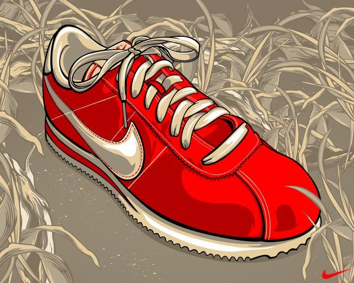 Nike Cortez by Aseo.deviantart.com  c742e42b7