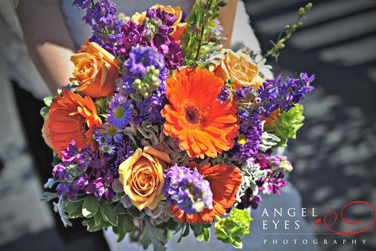 Colorful Nosegay - Bridesmaids