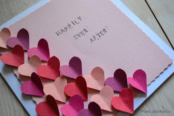 Happily ever after - itse tehty hääkortti - Pieni Seikkailu | Lily.fi