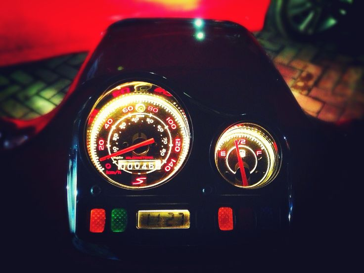 Vespa Spedometer S
