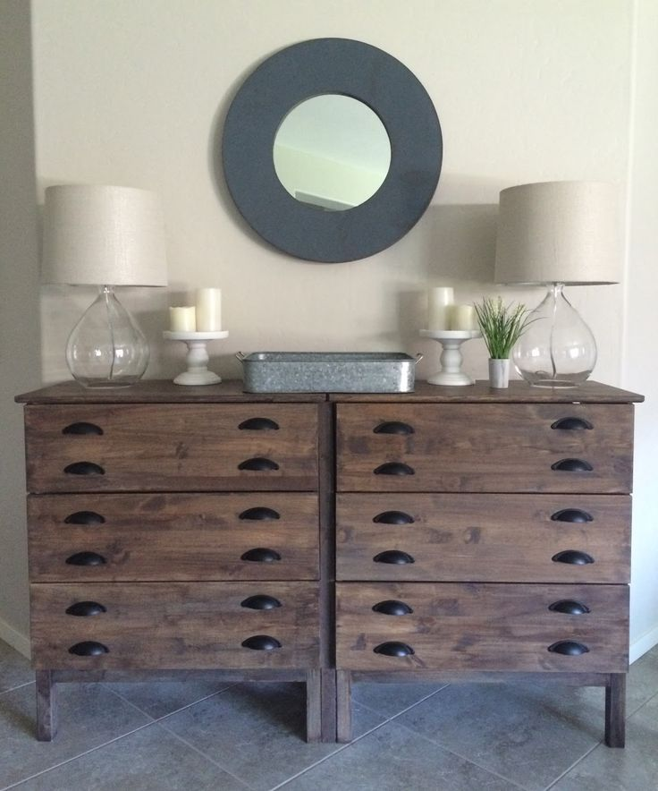 Restoration Hardware-Inspired IKEA Console Hack for the Entryway | BlogHer