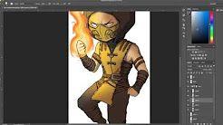 Mortal Kombat Artwork My Wife Started Creating - Figured you guys would love this! https://www.youtube.com/playlist?list=PL07CSpKiPYBQ-p7lR3r8zGcwktK-j1yrH