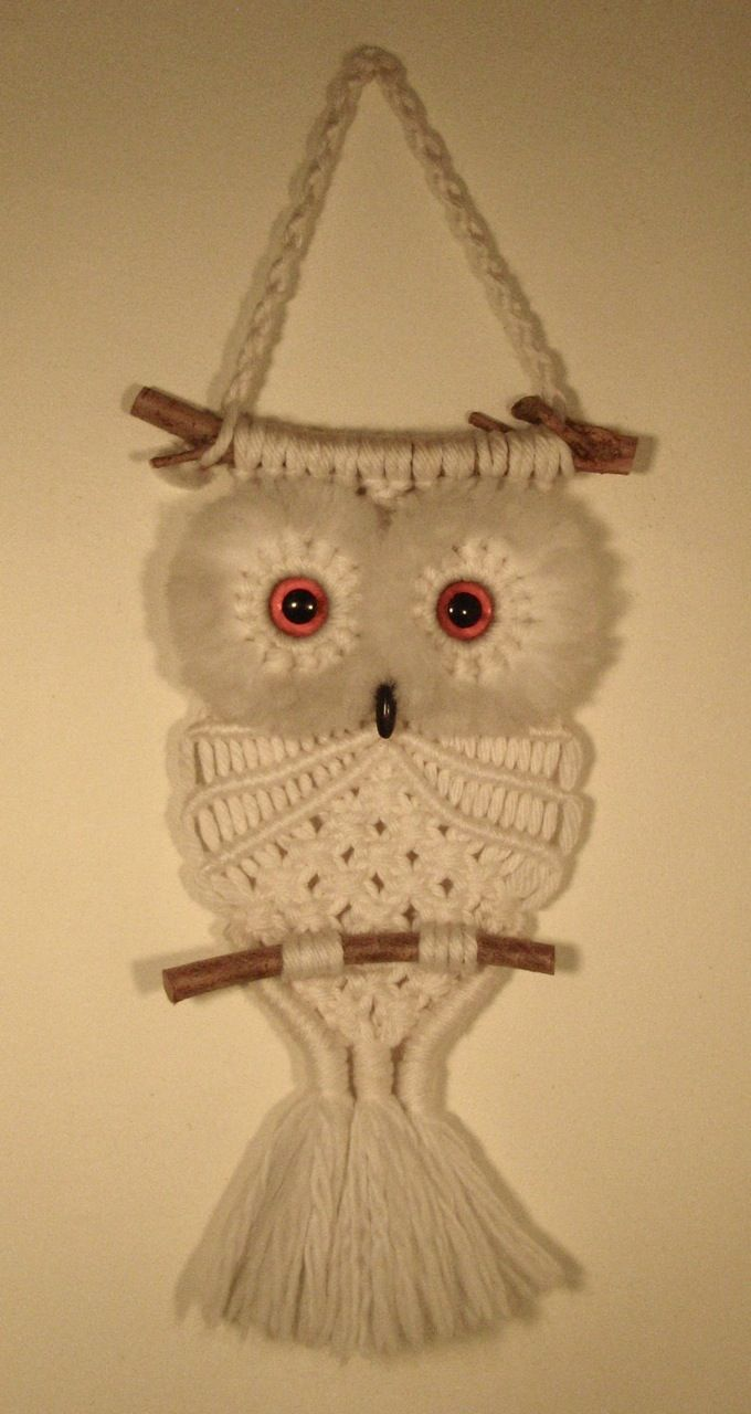 Macramé is having a renaissance. Yay! This means my belovedMacramé Owl (which sits upon the wall in my kitchen) is not only sent...