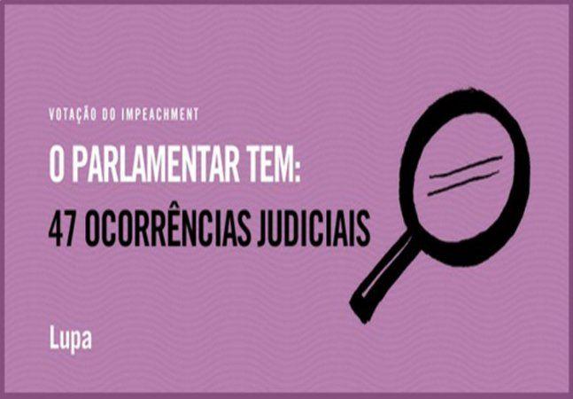 Ao longo do último domingo e durante a votação no Congresso pela aprovação do impeachment da presidente Dilma Rousseff, a Agência Lupa comentou, através do twitter - e depois publicou um relatório - sobre o número de ocorrências na justiça e nos Tribunais de Contas de cada um dos parlamentares votantes. O resultado é assombroso. 58% dos deputados possuem ocorrências, e 76 dos 513 parlamentares já foram condenados. A cada voto o site tuitou o resultado do eventual deputado. Um dos…