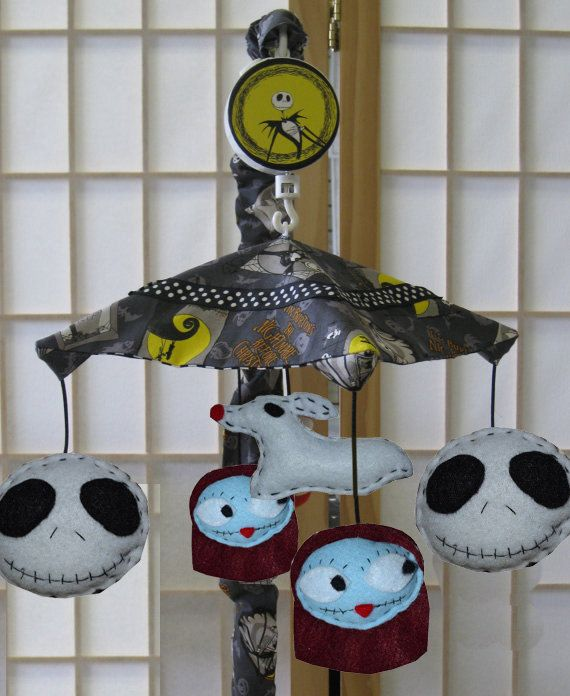 Nightmare Before Christmas coordinated Changing by SnowflakeCrafts