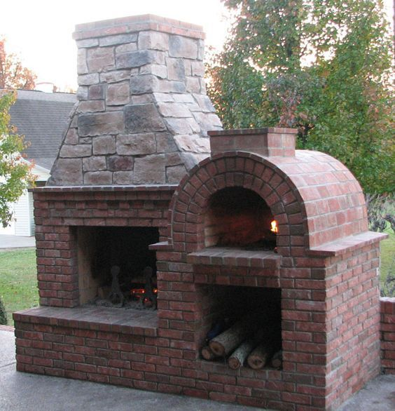 Image result for outdoor brick oven designs