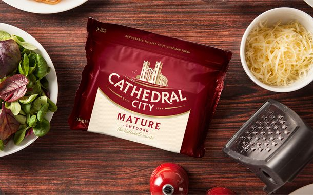 BrandOpus introduces fresh new design for Cathedral City cheese