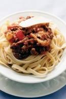 Healthy Dinner Recipe : Fettuccine Bolognese