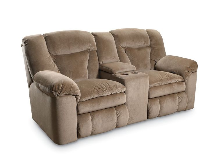Talon Double Reclining Console Loveseat With Storage From The Collection By Lane Furniture