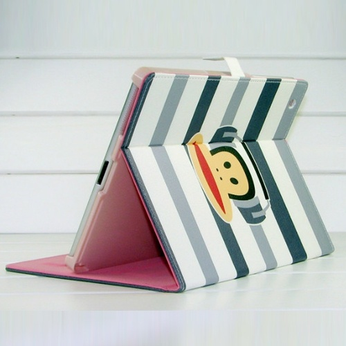 Paul Frank Leather Stand Case Cover  For iPad 2/The New iPad 3 - Grey: Ipad Cases Paul, Leather Cases Buy, Cases Paul Frank, Phones Cases, Stands Cases, Cases Covers, Cases Buy Paul
