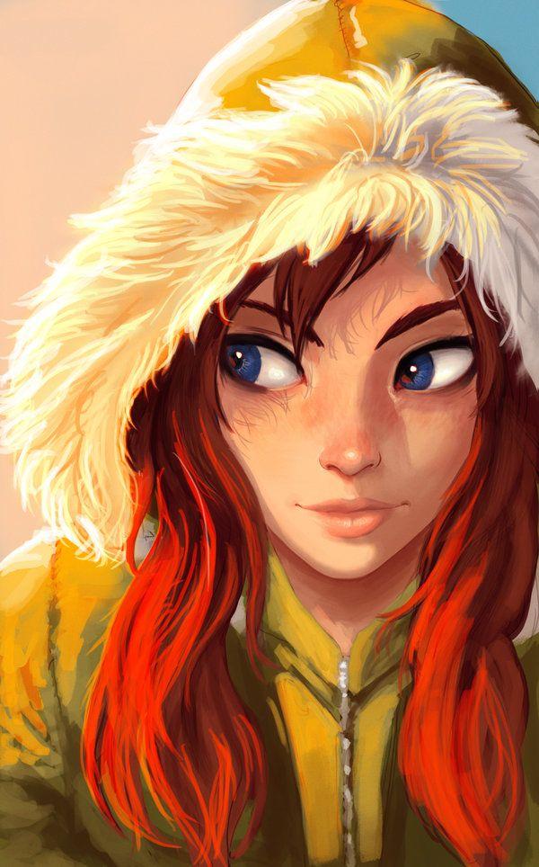 Smart Girl #colours / Ragazza sveglia #colori - Art by Carlos Eduardo, Raichiyo33 on deviantART