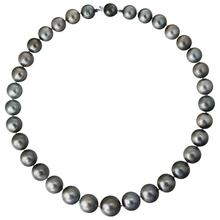 Κολιέ με μαύρα μαργαριτάρια South Sea Tahiti - M118976