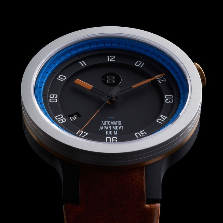 The cornerstone of the collection, the Layer represents the industrial aesthetic of MINUS-8. Layer is the result of an uncompromised vision to build a watch of individually layered strata.  This proce
