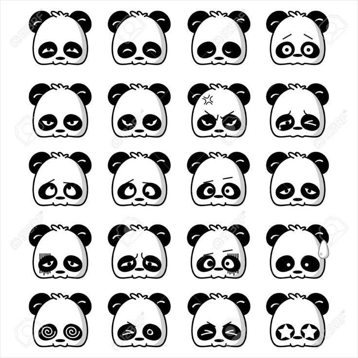 cute and cool pandas cartoon - Google Search
