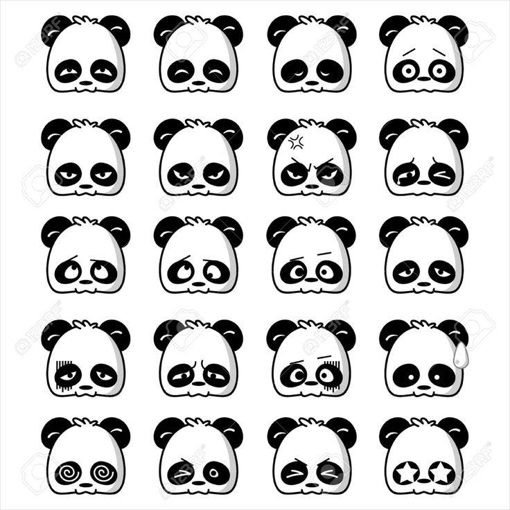 cute and cool pandas cartoon - Google Search