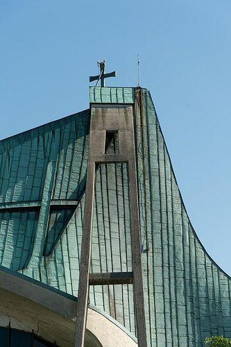 Firenze Chiesa dell'Autostrada del Sole di Giovanni Michelucci #TuscanyAgriturismoGiratola