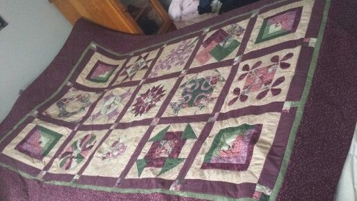 My fist quilt for my daughter