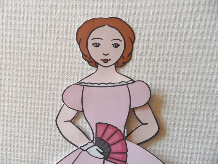 (8) Name: 'Paper Crafts : Victorian Paper Doll