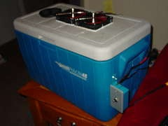 swamp cooler, Portable 12V Air Conditioner --Cheap and easy!