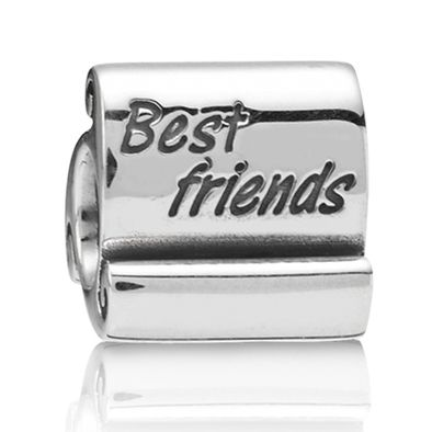 This was brought for me by my friend of 15 years.: Friends Charm, Best Friends, Scroll Charm, Friends Scroll, Pandora Charms, Sterling Silver