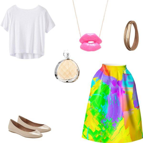 """Shiny summer"" by mariacolinaperez on Polyvore"