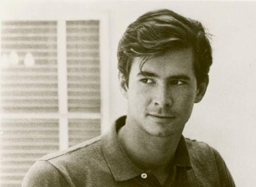 Anthony Perkins (American Actor) was a rising star in the 1960's in his movie Friendly Persuasion, The Trial Fear Strikes Back, Tall Story, Pretty Poison, The Black Hole. . .  He is most noted for his role as Norman Bates in Psycho which typed cast him after this which really stifled his future career.