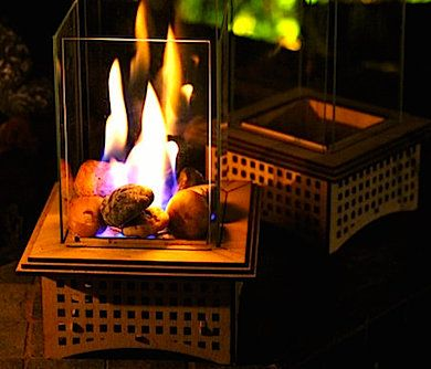 The tabletop glass fireplace is an excellent example of beauty, sophistication, and portability all in one functional little package. This small but elegant