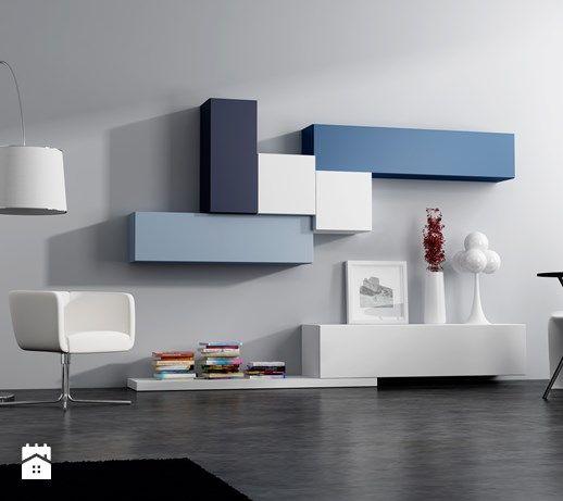 Meble modułowe - Salon, styl nowoczesny - zdjęcie od Rosanero