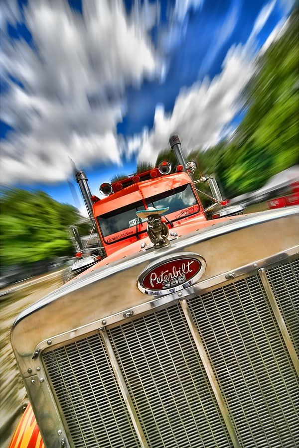 Vintage Peterbilt Truck