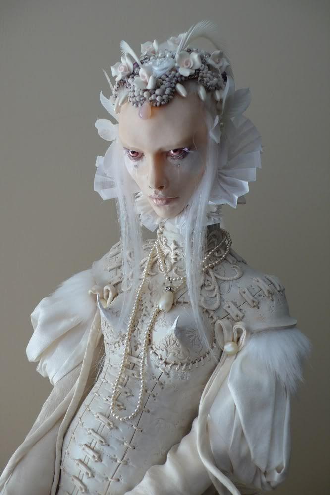 Virginie Ropars: Virginie Ropar, Dolls Sculpture Art, Art Dolls2, Ropar Dolls, Dollsvirgini Ropar, Artists Virginie, Dolls Creepy, Dolls Artists, Dolls Costumes
