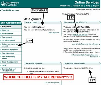 The Frustrations And Pitfalls Of Completing Your Own Self Assessment Tax  Return Form. It Ain