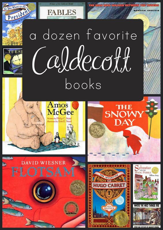 A Dozen of the Best Caldecott Books (great books to give as gifts)
