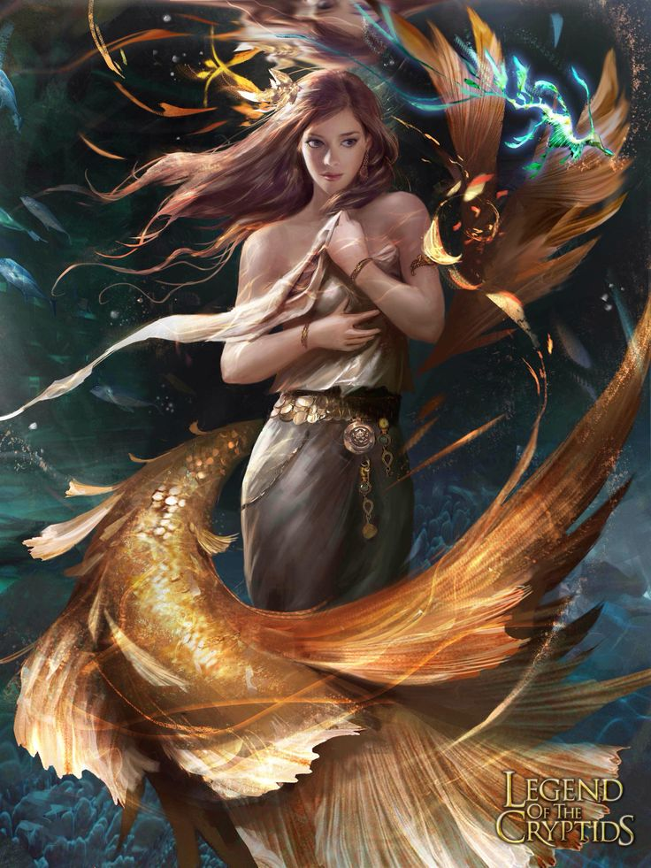 Deep sea legend of the cryptids