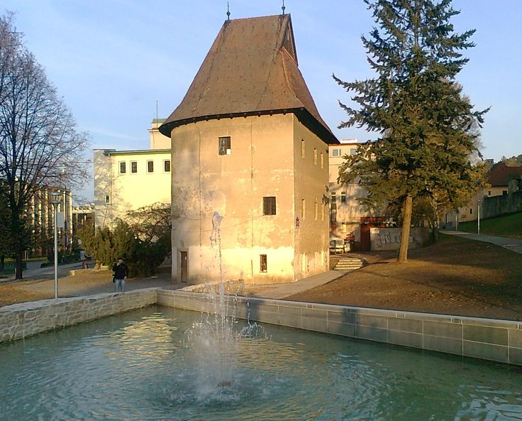 The Bastion by Musical Fountain, Bardejov