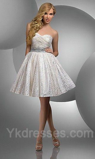 Winter Wonderland Homecoming Dresses 44