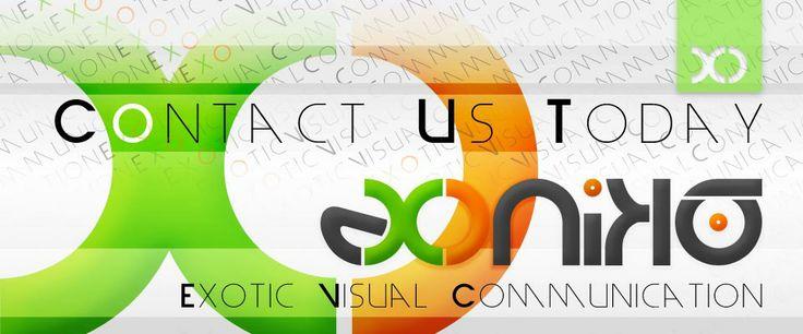 Corporate ID, Exonika, Contact Us