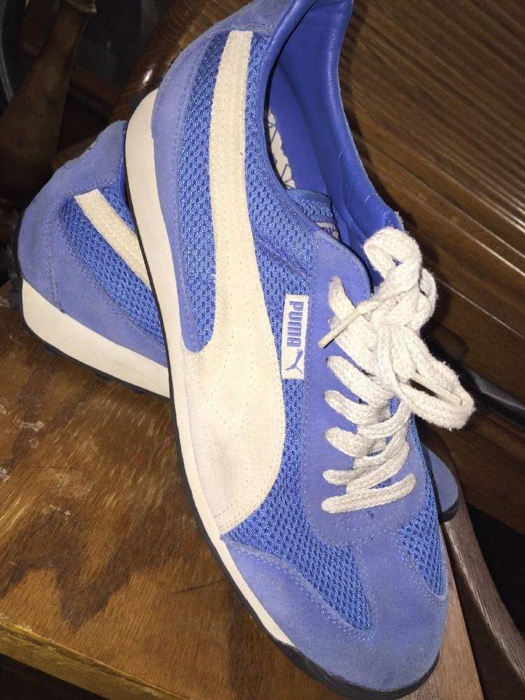 Vintage Puma Tennis Shoes US Size Wm 11 or Men 9 5 | eBay