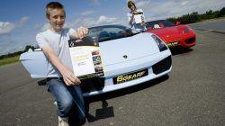 Junior Supercar Driving Experience. Supercar Driving Experience for kids Juniors just need to be 5 foot tall