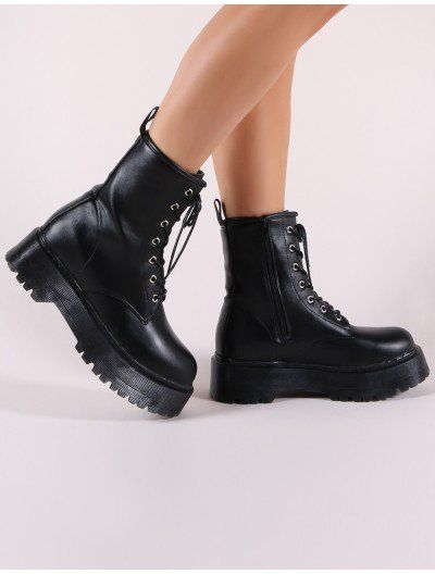 3c308640561d Formation Chunky Ankle Boots in Black | Black Friday sales | Boots ...
