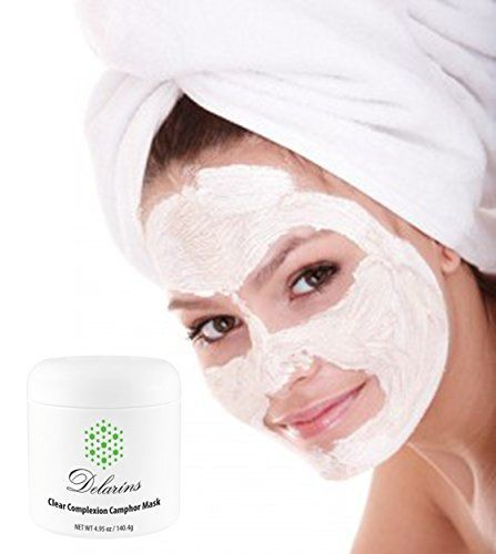 Clear Complexion Camphor Mask  Best Facial Pore Minimizing Clarifying Acne Treatment  495 oz >>> Click image to review more details.